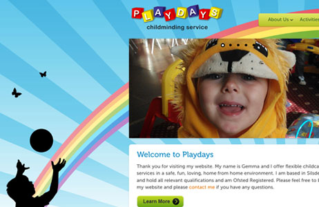 playdays-web-page