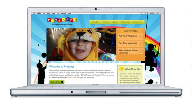 Playdays Website