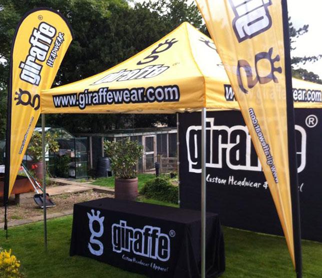 Giraffe Tent