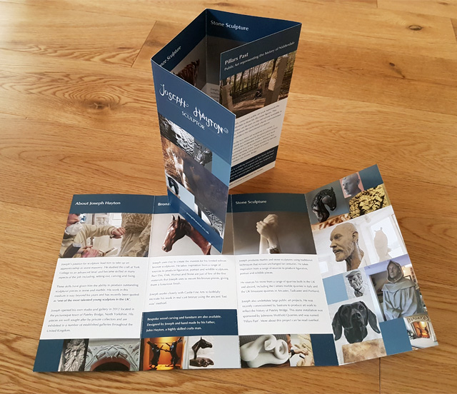 Joseph Hayton Leaflet Design